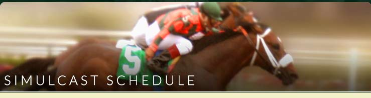 Simulcast Schedule at Ebro Greyhound Park and Poker Room