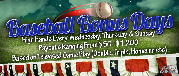 Baseball Bonus Days